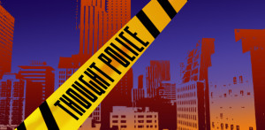 Thought Police, Ludum Dare, Indie Games, Nathan Blades, Aryn Clark